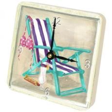 Beach III Clock