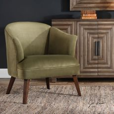 Conroy Olive Accent Chair