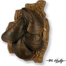 Mussels Door Knocker-Bronze