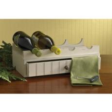 Southport Wine Rack with Drawer