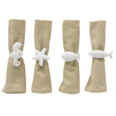 Shore Creatures Napkin Rings