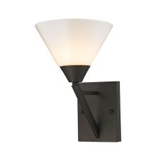 Tribecca 1 Light Wall Scone In Oil Rubbed Bronze