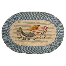 Mermaid Oval Rug