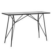 Uttermost Reznor Patina Steel Console Table
