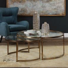 Rhea Nested Coffee Tables S/2