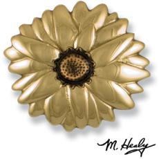Sunflower In Bloom Door Knocker-Brass/Bronze