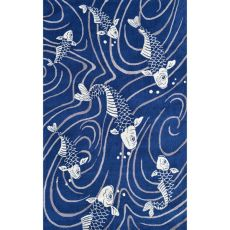 Koi Pond Indoor / Outdoor Rug - 8X10