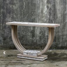 Jadrian Mosaic Console Table