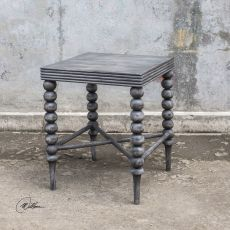 Kunja Gray End Table