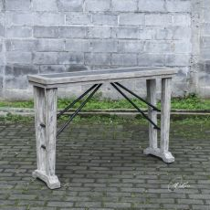 Chanler Driftwood Console Table