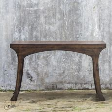 Nowell Hickory Console Table