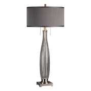 Uttermost Coloma Gray Glass Table Lamp
