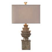 Uttermost Grevena Aged Silver-Champagne Lamp