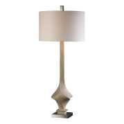 Uttermost Roseta Sand Colored Twist Lamp