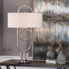 Vaaler Brushed Nickel Table Lamp