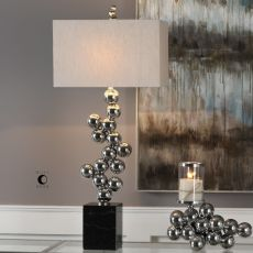 Kesi Metal Spheres Table Lamp