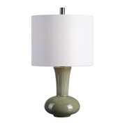 Uttermost Luray Gray Ceramic Lamp