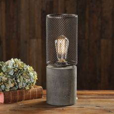 Ledro Thick Concrete Lamp