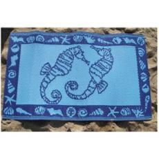 Seahorses Indoor/Outdoor Rug