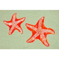 Starfish Seafoam Indoor/ Outdoor Rug