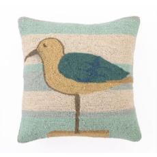 Shore Bird Hook Pillow