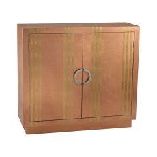 Gold Stripe Copper Cabinet