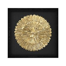 Gold Feather Spiral
