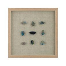 Blue Agate Shadow Box