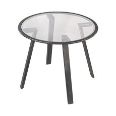 Geometric Accent Table