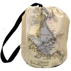 Ditty Bag with Navigation Chart