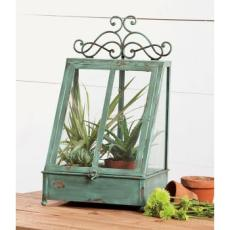 Antique Verdi Green Terrarium