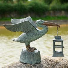 Pelican Lantern Set Of 2
