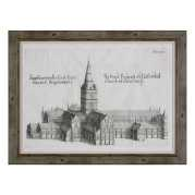 Uttermost Salisbury Cathedral Architectural Print