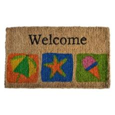 Beach Welcome Doormat