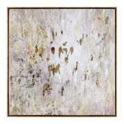 Uttermost Golden Raindrops Modern Abstract Art
