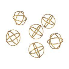 Decorative Gold Orbs