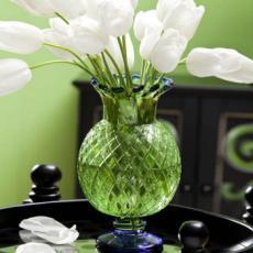 Pineapple Vase Green/Blue