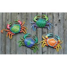 Tropical Crab  Wall Art  Set of 4