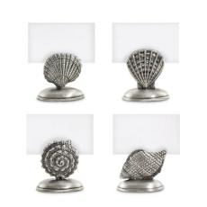 Pewter Sea Life Place Card Holders