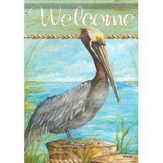 Pelican Roost Garden Dura Soft Flag
