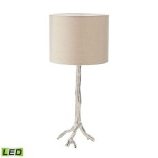 Tree Branch Led Table Lamp In Nickel