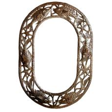 "Fish Mirror Oval  24"" x 34"""
