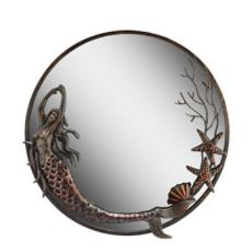 Iron Mermaid Mirror