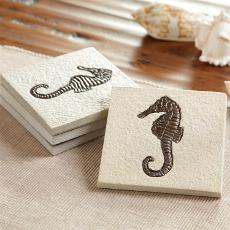 Seahorse Coasters S/4