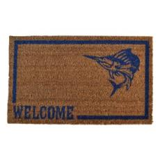 Swordfish Vinyl Back Door Mat