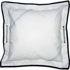 Sailcloth Pillow with Insert, Personalized
