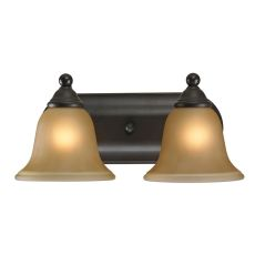 Shelburne 2 Light Bathbar In Oil Rubbed Bronze