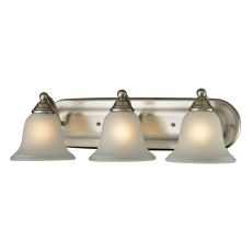 Shelburne 3 Light Bathbar In Brushed Nickel