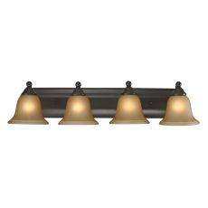 Shelburne 4 Light Bathbar In Oil Rubbed Bronze