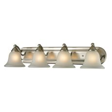 Shelburne 4 Light Bathbar In Brushed Nickel